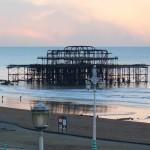 Brighton's sandy beach